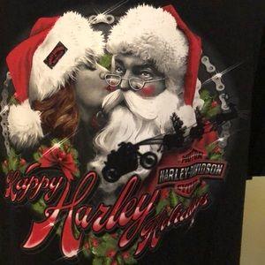 Harley-Davidson Men's Large Christmas